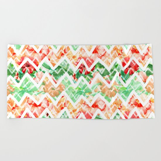 Tropical Summer #18 Beach Towel