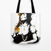poker Tote Bags featuring Poker by Oody
