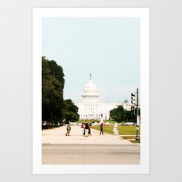 Capitol Building in the Summertime Art Print