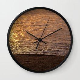 Iridescent colors Wall Clock