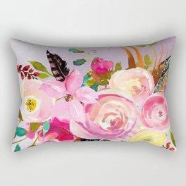 Flowers bouquet #40 Rectangular Pillow