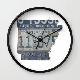 Vintage Arkansas Wall Clock