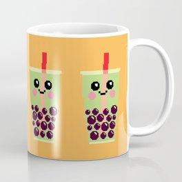Happy Pixel Bubble Tea Coffee Mug