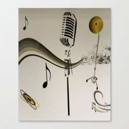 MUSIC - SING ME AN OLD FASHIONED SONG Canvas Print