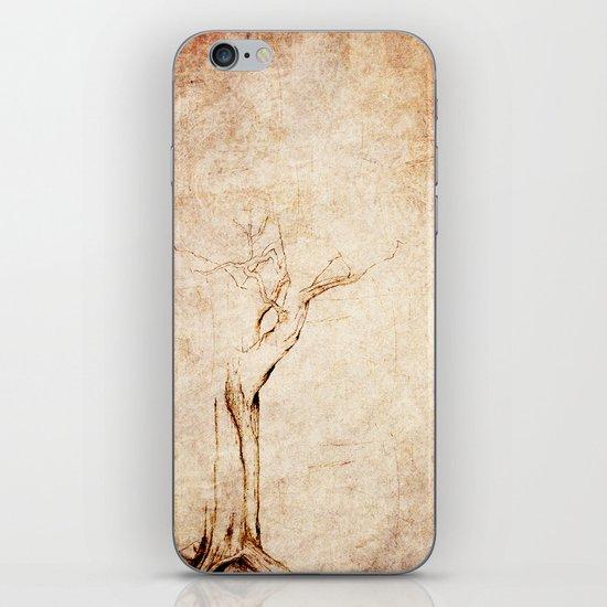 Drawn Tree iPhone Case iPhone & iPod Skin