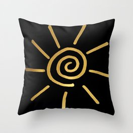 as sure as the sun Throw Pillow
