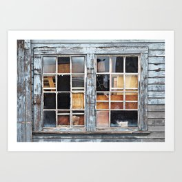 Wood in the Windows Art Print