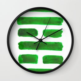 The Family - I Ching - Hexagram 37 Wall Clock