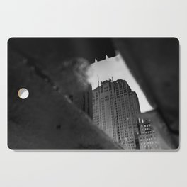 Chicago Puddle Cutting Board