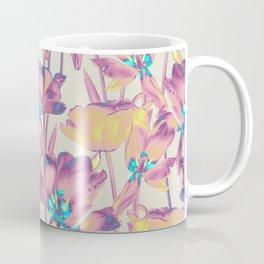 Tulips in Cotton Candy Coffee Mug