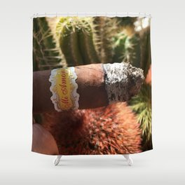 Cigar Lover Shower Curtain