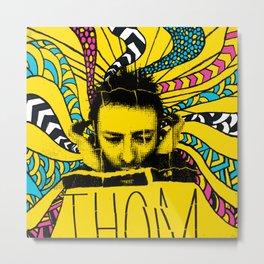 Thom Yorke Nightmare Metal Print