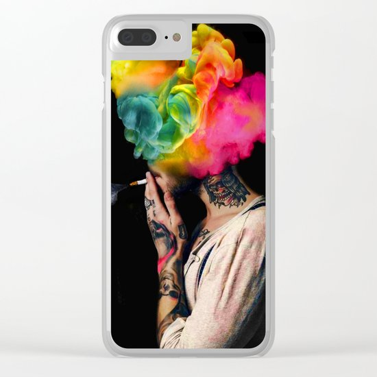 UGLY BOYS Clear iPhone Case