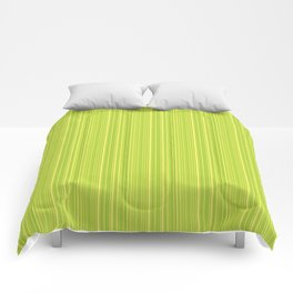 Lime Green Pinstripe Comforters
