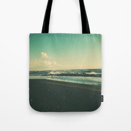 Dark Sand Beach Tote Bag
