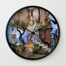 Bringing stories to life Wall Clock