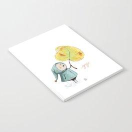 Goji and the leaf Notebook