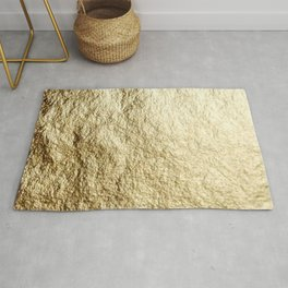 Crinkled Gold Rug