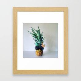 Party Pineapple  Framed Art Print