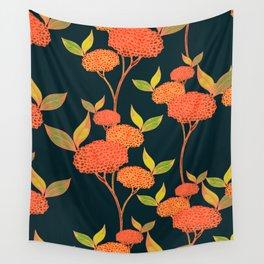 Orange autumn berries. Wall Tapestry