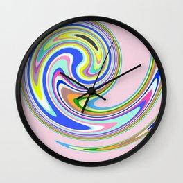 swim in colour Wall Clock