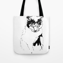 Kitty Knows Tote Bag