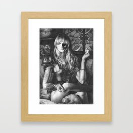 Princess Of Hell Framed Art Print