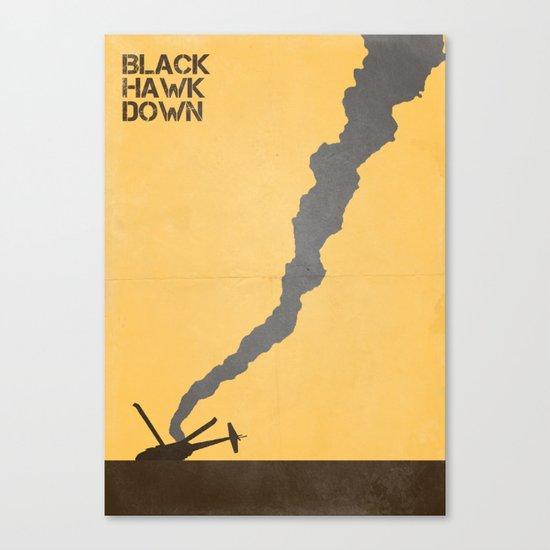 Black Hawk Down Canvas Print