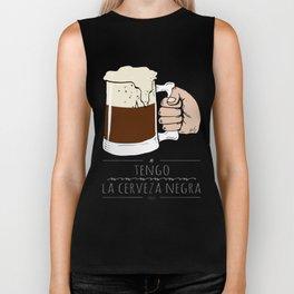 beer beer beeeeeeer & 'la camisa negra' Biker Tank