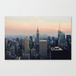 New York at Dusk Canvas Print