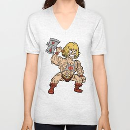 Midget He-Man Unisex V-Neck