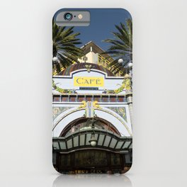 Las Palmas Cafe iPhone Case