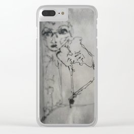 Marionette Clear iPhone Case