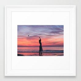 Sunrise Part 1 Framed Art Print