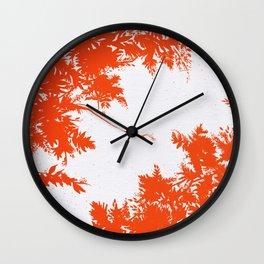 Night's Sky Persimmon Wall Clock