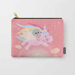Unicorn puddle Carry-All Pouch