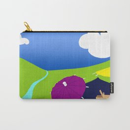 Colorful picnic Carry-All Pouch