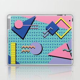 Memphis Pattern 14 - 80s Retro Laptop & iPad Skin