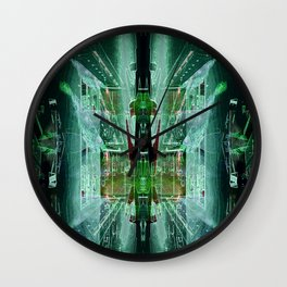 Clinical contouring Wall Clock