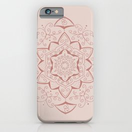 Jin Pink Mandala iPhone Case