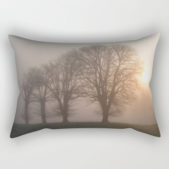 in the morning... Rectangular Pillow