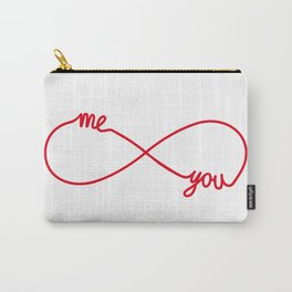 You and me together forever Carry-All Pouch