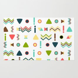 Exclamations Rug