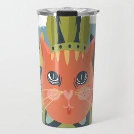 BOHO CAT Travel Mug