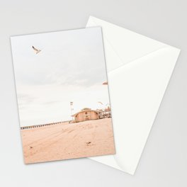 Coney Island Summer Time, New York, Beach Photography  Stationery Cards