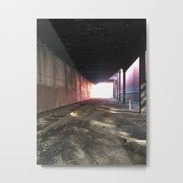 the light at Metal Print