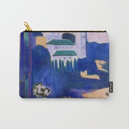 LANDSCAPE VIEWED FROM A WINDOW IN TANGIER - HENRI MATISSE Carry-All Pouch