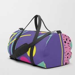 Memphis pattern 43 - 80s / 90s Retro Duffle Bag