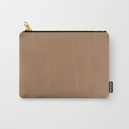 Café Au Lait - solid color Carry-All Pouch