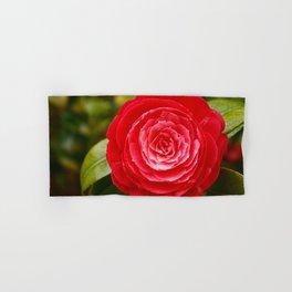 Camellia japonica Hand & Bath Towel